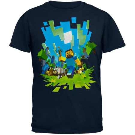 Adventure Youth T-Shirt - Minecraft T Shirts