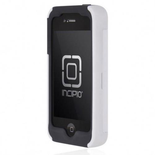 Incipio IPH-664 Stowaway Credit Card Case for iPhone 4/4S - Retail Packaging - White
