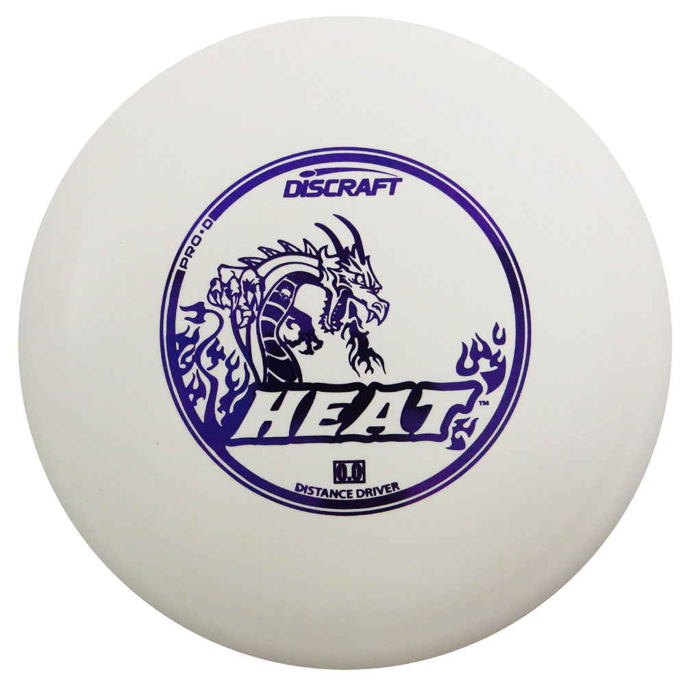 Discraft Pro D Heat 170-172g Distance Driver Golf Disc [Colors may vary] - 170-172g