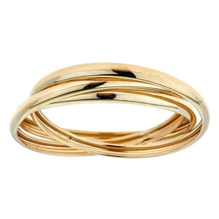 10kt Solid Yellow Gold Rolling Band Thumb Ring (Gold Thumb Ring Ring)