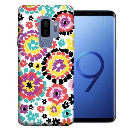 MUNDAZE For Samsung Galaxy S9 Plus Fiesta Flowers Design TPU Gel Phone Case Cover - Fiesta Design