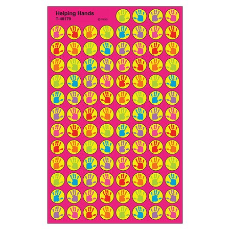 HELPING HANDS SUPERSPOT SHAPES STICKERS