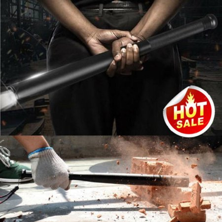 36CM Baseball Bat LED Flashlight Super Bright Baton Torch Emergency (Best Self Defense Flashlight 2019)