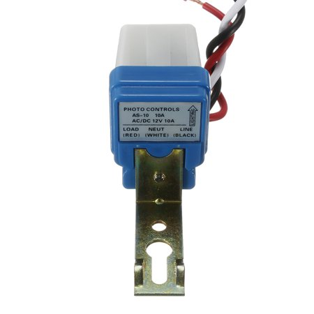 AC DC 12V 10A Street Light Photoswitch Sensor Auto On/Off Control Switch