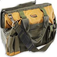 toolusa 30 Pocket Nylon Tool Bag, 18-Inch Long