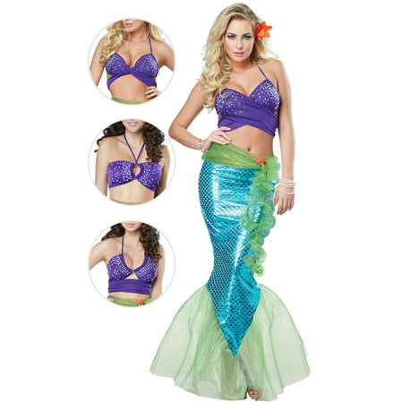 Mythic Mermaid Adult Costume - Adult Mermaid
