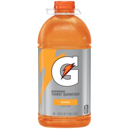 Gatorade Thirst Quencher Sports Drink, Orange, 128 fl oz Bottle 128 Oz Concentrate Bottle