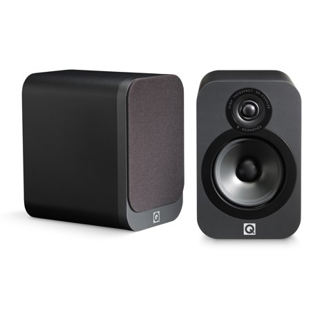 Q Acoustics 3020 Bookshelf Speaker Pair Graphite