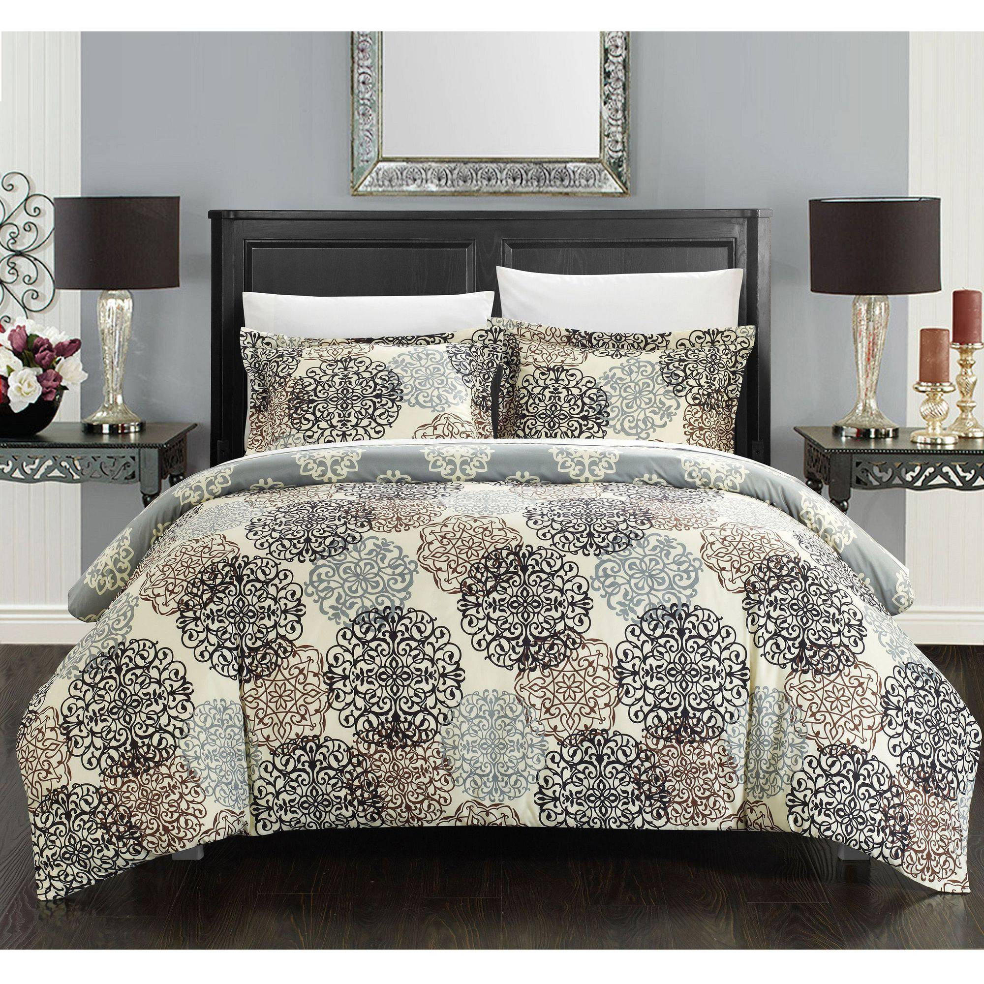 Chic Home 2-Piece Justino Boho Duvet Set
