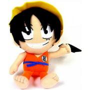 Dragon Ball One Piece Luffy as Goku Plush
