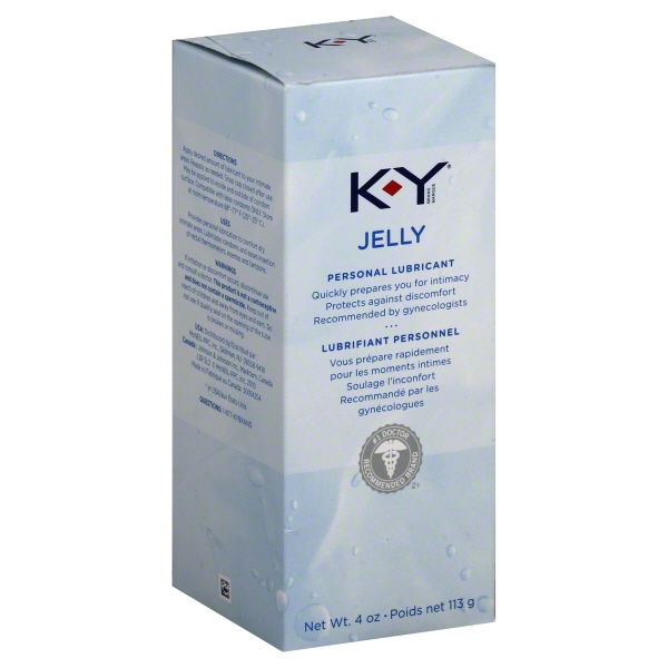 K-Y Personal Water Based Lubricant Jelly - 4 oz