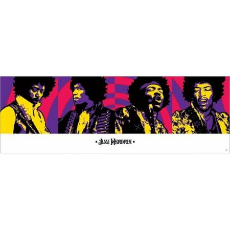Jimi Hendrix   Purple Haze Poster Poster Print