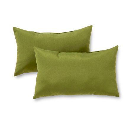 Greendale Home Fashions Rectangle Outdoor Accent Pillow, Set of 2