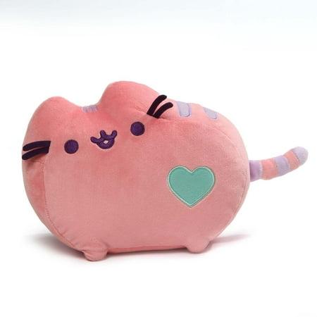 Gund Pusheen Pastel Heart Cat Plush, Pink, 12