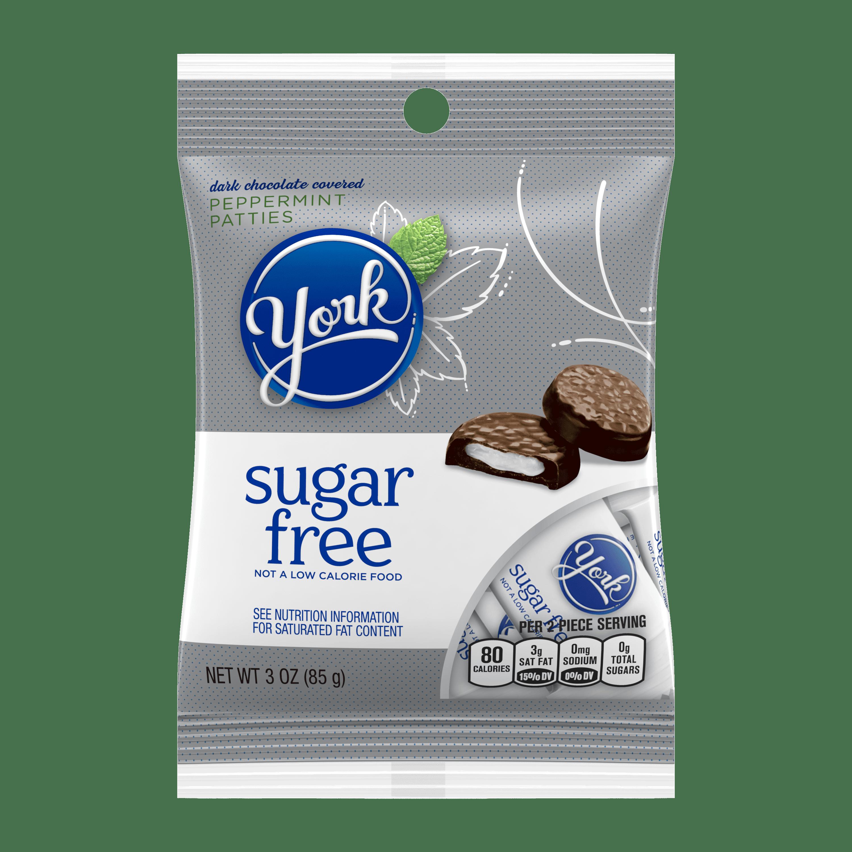 York, Peppermint Patties Sugar Free Candy, 3 Oz