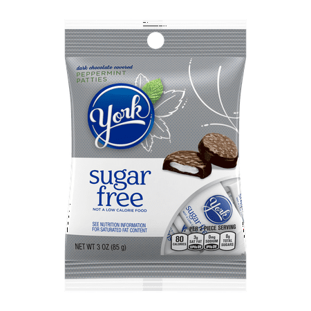 (4 pack) York, Peppermint Patties Sugar Free Candy, 3 - York Peppermint Patty Halloween