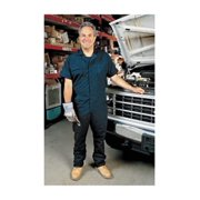 Short Sleeve Coverall, 52 to 54In., Navy