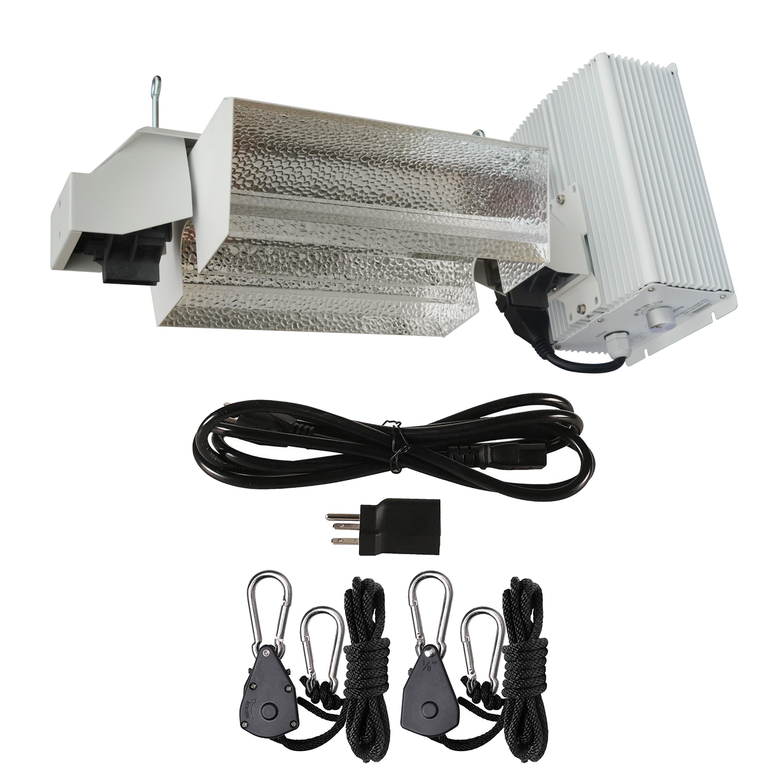 Hydro Crunch 1000-Watt Double Ended HPS Pro Series Open Style Grow Light System 120-Volt/240-Volt
