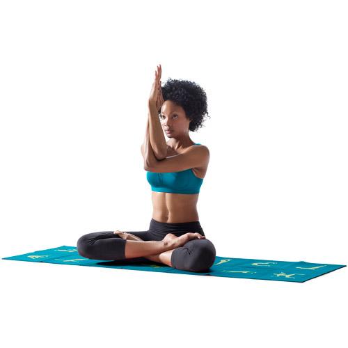 Danskin Now Folding Yoga Mat Walmart Com