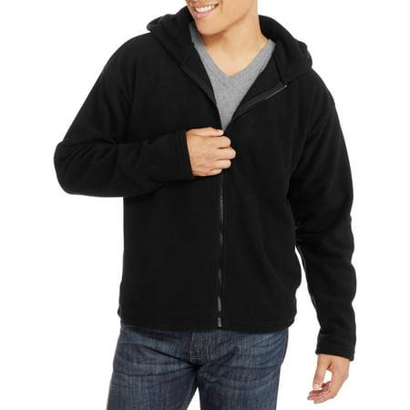 Men's Full Zip Hooded Fleece Jacket
