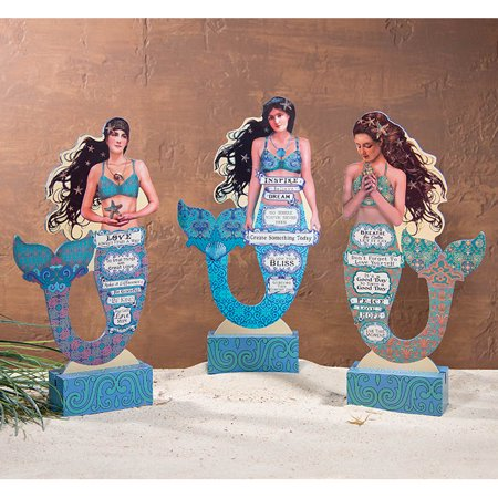 Assorted Mermaid Inspiration Die Cuts - Set of 3