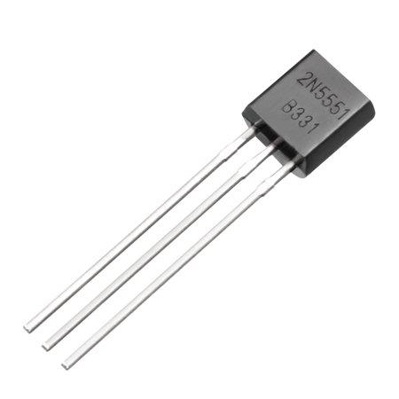 40pc Pouvoir Encapsuler plastique-92 Transistor NPN 160V 600mA 625mW - image 1 de 3