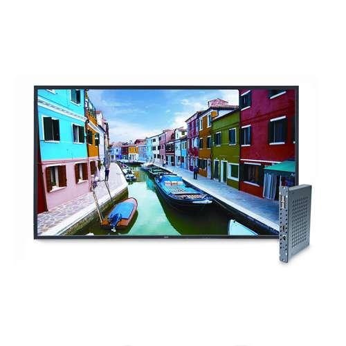 "NEC 46"" Class LED-Backlit Commercial-Grade Display with Single Board Computer - 1920 x 1080, 16:9, 60Hz, 4000:1 Native,"