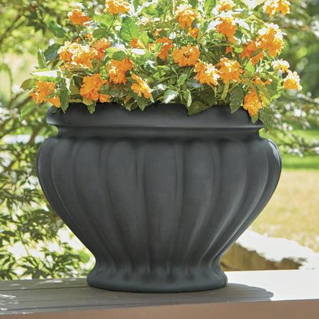 better homes and gardens argos outdoor 23 in urn planter. Black Bedroom Furniture Sets. Home Design Ideas