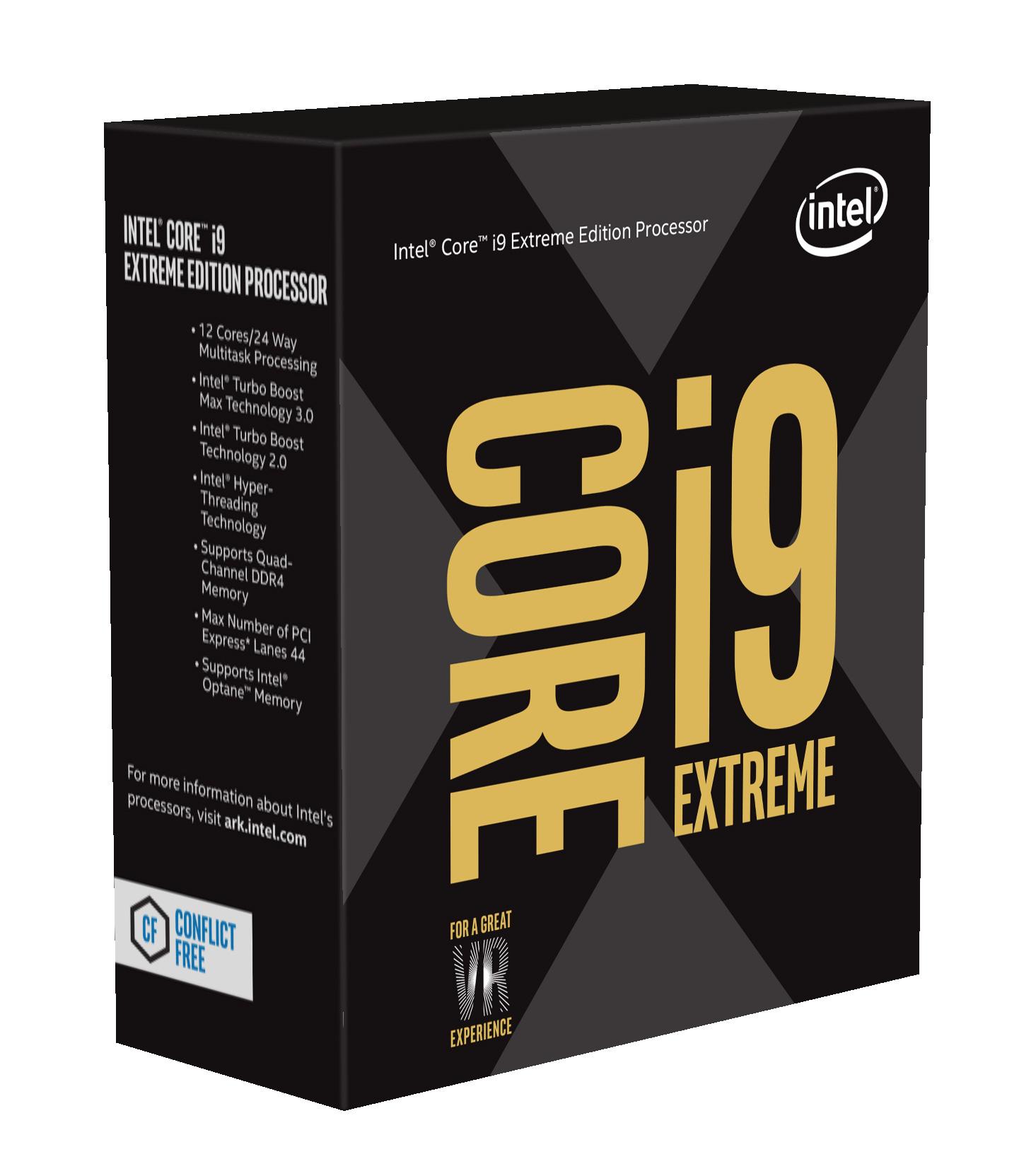 Intel Core i9 7900X Skylake-X 10-Core 3.3 GHz LGA 2066 13.75MB Cache Desktop Processor BX80673I97900X by Intel