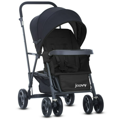 Joovy Caboose Graphite Stand-On Stroller - Black