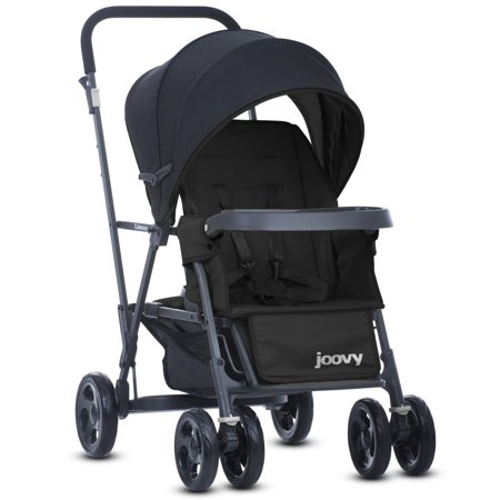 - Joovy Caboose Graphite Stand-On Stroller - Black