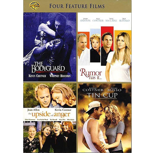 4 Film Favorites: Kevin Costner - Rumor Has It / Tin Cup / The Upside Of Anger / The Bodyguard