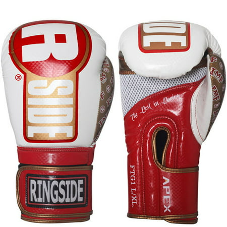 Ringside Apex Bag Gloves 14k Gold Boxing Gloves