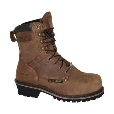 (Men's 9 Super Logger Steel Toe Boot)