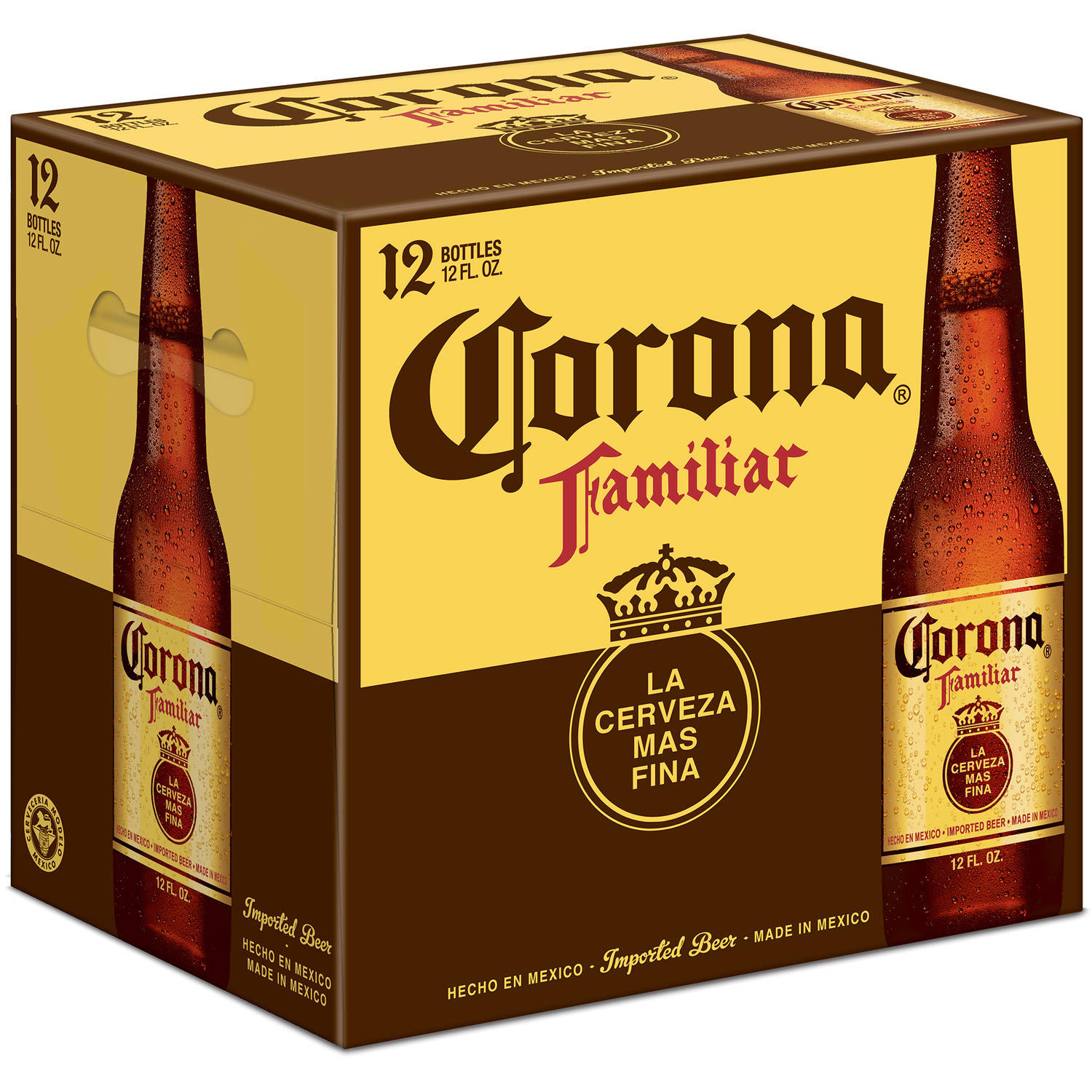 Corona Familiar Beer, 12 pack, 12 fl oz bottles