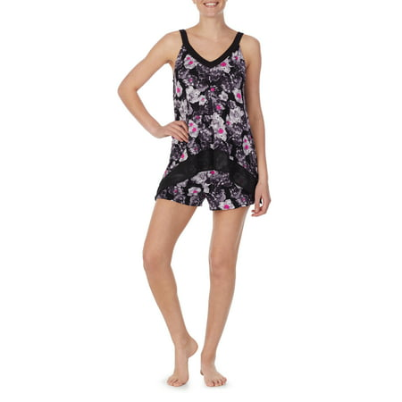 Secret Treasures Women's and Women's Plus Modern Tank and Shorty PJ