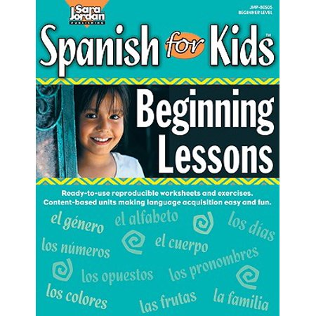 Spanish for Kids : Beginning Lessons (Spanish Halloween Lesson Plans)