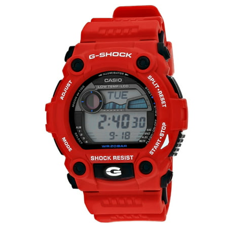 G-shock Stopwatch - Casio G-Shock Rescue Red Wristwatch G7900A-4