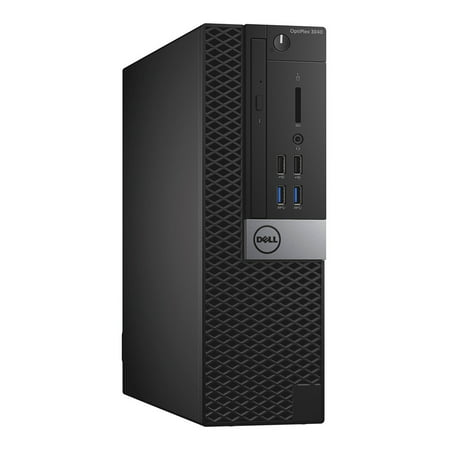 Dell OptiPlex 3040, Small Form Factor, Intel Core i5-6500 up to 3.60 GHz, 12GB DDR3, NEW 240GB SSD, DVD-RW, Microsoft Windows 10 Pro 64-bit - image 1 de 2