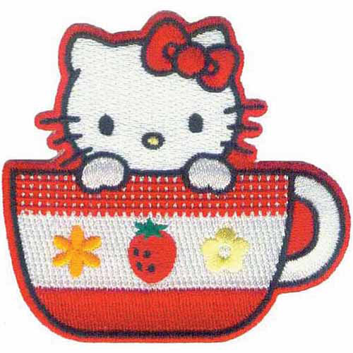 C & D Visionary Hello Kitty Patches