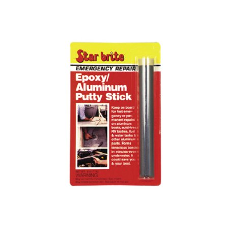 Star Brite Emergency Repair Epoxy Aluminum Putty Stick 4oz