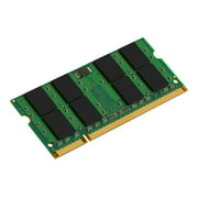 Kingston - DDR2 - 2 GB - SO-DIMM 200-pin - 667 MHz / PC2-5300 - unbuffered - non-ECC - for iMac (Late 2006, Mid 2007); MacBook (Early 2008, Late 2008); MacBook Pro