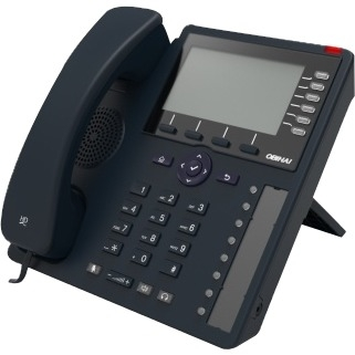 Obihai Gigabit IP Phone with Power Supply - Up to 24 Lines - Built-In WiFi and Bluetooth - Works with Google Voice and