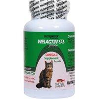 Nutramax Welactin Feline Omega-3 Softgel Capsules Cat Supplement, 60 Softgels