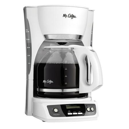 Mr Coffee Cgx20 Digital 12 Cup Programmable Coffeemaker Machine Maker White