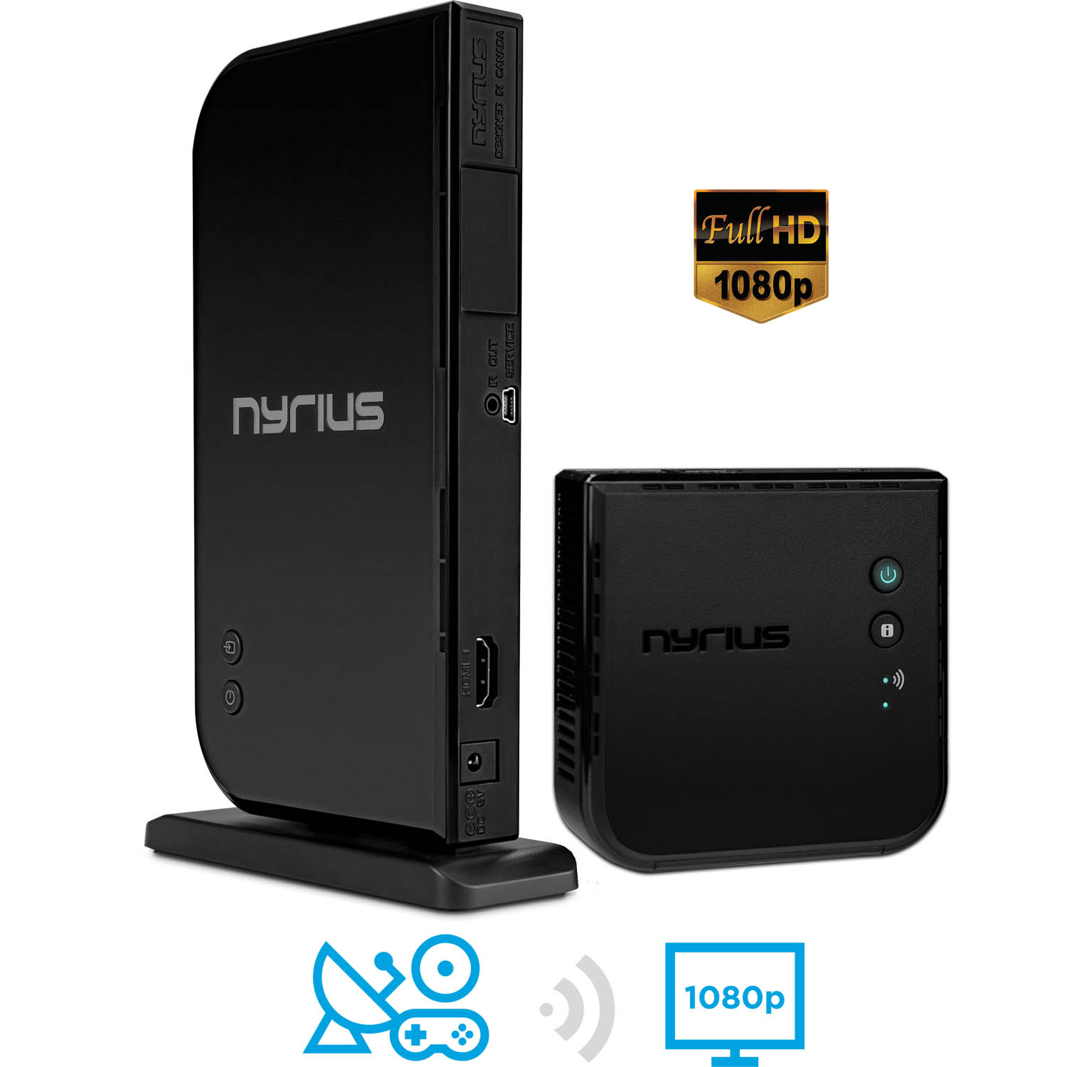 Nyrius ARIES Home HDMI Digital Wireless Transmitter & Receiver for ...