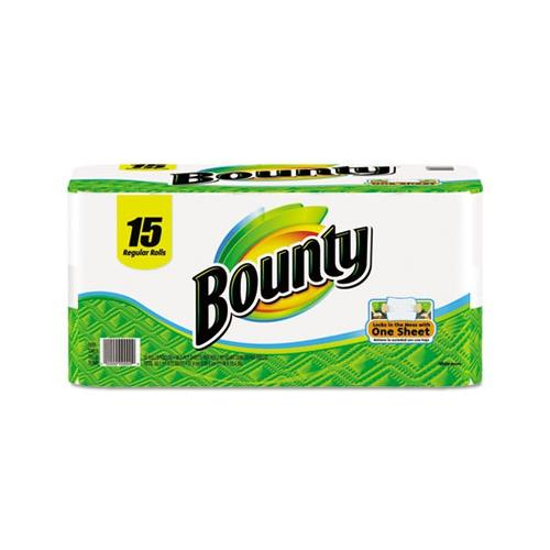Bounty Perforated Paper Towels 9 X 10 4 White Pgc81461