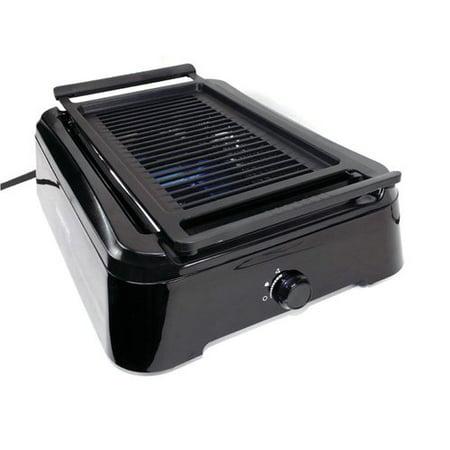 - Tectron 14'' Smokeless Indoor Portable Grill