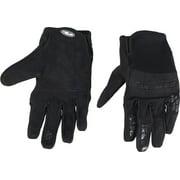 Answer Enduro Full Finger Glove: Stealth Black MD