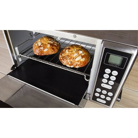 Kitchen + Home Heavy Duty 100% PFOA & BPA Free - FDA Approved Non-Stick Reusable Toaster Oven Liner (KH-132B)